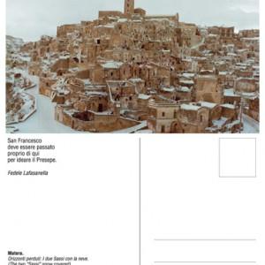 Cartoline dalla città dei Sassi