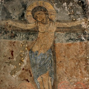 sei-su-immagine-raffigurante-l-affresco-di-gesù-in-croce-nella-chiesa-rupestre-di-cristo-la-selva