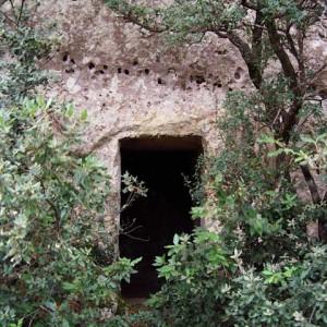 sei-su-immagine-raffigurante-l-ingresso-della-cripta-della-scaletta-in-mezzo-ad-una-vegetazione-lussureggiante